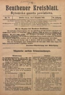 Beuthener Kreisblatt, 1922, Jg. 80, Nr. 54