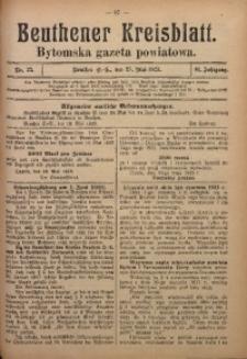 Beuthener Kreisblatt, 1923, Jg. 81, Nr. 23