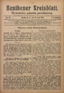 Beuthener Kreisblatt, 1923, Jg. 81, Nr. 26