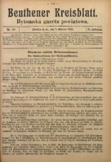 Beuthener Kreisblatt, 1923, Jg. 81, Nr. 42