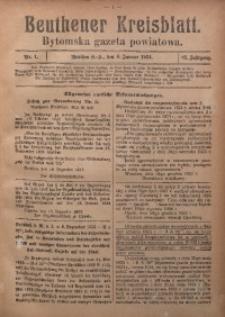 Beuthener Kreisblatt, 1924, Jg. 82, Nr. 1