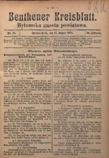 Beuthener Kreisblatt, 1924, Jg. 82, Nr. 34