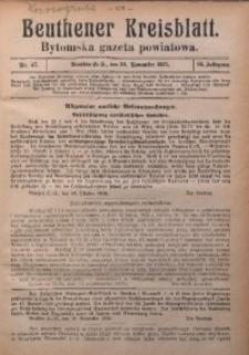 Beuthener Kreisblatt, 1925, Jg. 83, Nr. 47