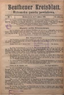 Beuthener Kreisblatt, 1926, Jg. 84, Nr. 1
