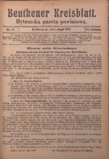 Beuthener Kreisblatt, 1926, Jg. 84, Nr. 31