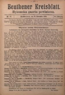 Beuthener Kreisblatt, 1926, Jg. 84, Nr. 47