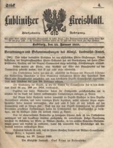 Lublinitzer Kreisblatt, 1858, Jg. 15, St. 4
