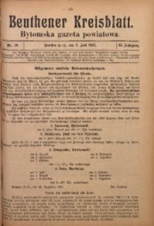Beuthener Kreisblatt, 1927, Jg. 85, Nr. 30