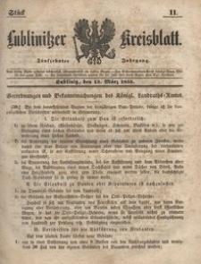 Lublinitzer Kreisblatt, 1858, Jg. 15, St. 11