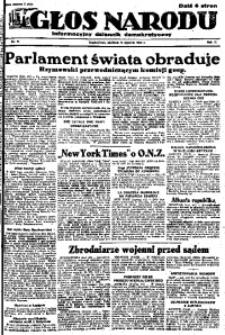 Głos Narodu, 1946, R. 2, nr 11