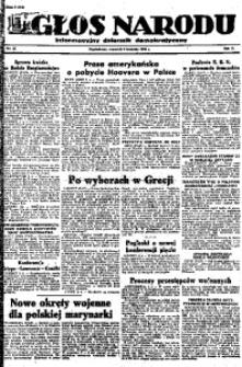 Głos Narodu, 1946, R. 2, nr 80