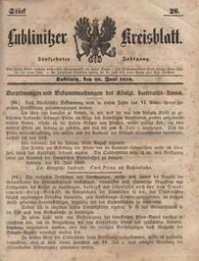 Lublinitzer Kreisblatt, 1858, Jg. 15, St. 26