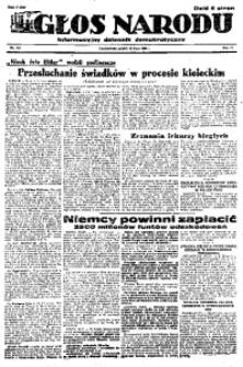 Głos Narodu, 1946, R. 2, nr 162