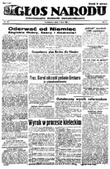 Głos Narodu, 1946, R. 2, nr 163