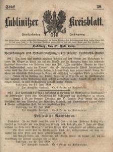 Lublinitzer Kreisblatt, 1858, Jg. 15, St. 30