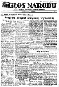 Głos Narodu, 1946, R. 2, nr 224