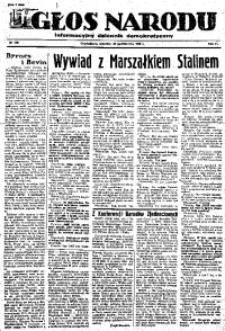 Głos Narodu, 1946, R. 2, nr 256