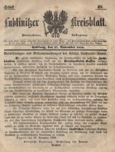 Lublinitzer Kreisblatt, 1858, Jg. 15, St. 48
