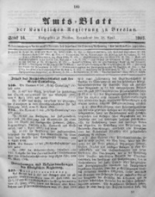 Amts-Blatt der Königlichen Regierung zu Breslau, 1903, Bd. 94, St. 16