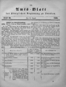 Amts-Blatt der Königlichen Regierung zu Breslau, 1869, Jg. 60, St. 33