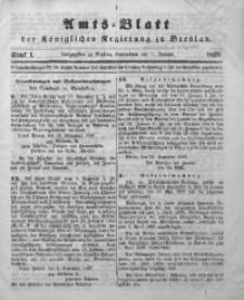Amts-Blatt der Königlichen Regierung zu Breslau, 1898, Jg. 89, St. 1