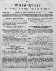 Amts-Blatt der Königlichen Regierung zu Breslau, 1898, Jg. 89, St. 16