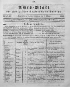 Amts-Blatt der Königlichen Regierung zu Breslau, 1898, Jg. 89, St. 41