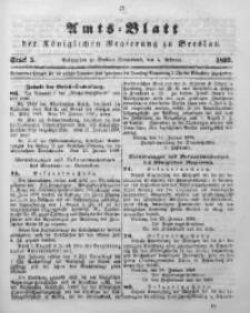 Amts-Blatt der Königlichen Regierung zu Breslau, 1899, Jg. 90, St. 5