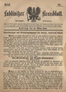 Lublinitzer Kreisblatt, 1863, Jg. 20, St. 13