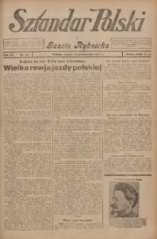 Sztandar Polski i Gazeta Rybnicka, 1933, R. 15, Nr. 118