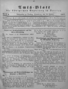 Amts-Blatt der Königlichen Regierung in Breslau, 1907, Bd. 98, St. 4
