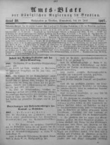Amts-Blatt der Königlichen Regierung in Breslau, 1907, Bd. 98, St. 26
