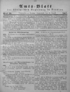 Amts-Blatt der Königlichen Regierung in Breslau, 1907, Bd. 98, St. 34