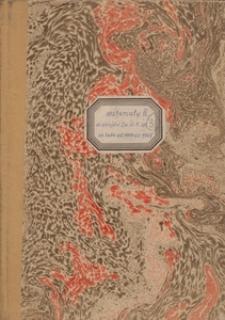 Materiały do dziejów Zw[iązku] Śl[ąskich] K[ół] Śp[iewaczych] za lata od 1910 do 1968