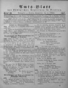 Amts-Blatt der Königlichen Regierung in Breslau, 1907, Bd. 98, St. 42