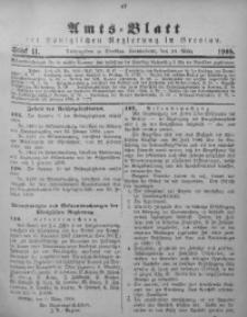 Amts-Blatt der Königlichen Regierung in Breslau, 1908, Bd. 99, St. 11