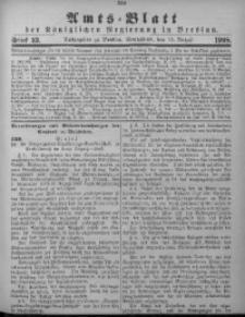 Amts-Blatt der Königlichen Regierung in Breslau, 1908, Bd. 99, St. 33