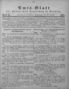 Amts-Blatt der Königlichen Regierung in Breslau, 1908, Bd. 99, St. 34