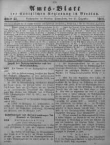 Amts-Blatt der Königlichen Regierung in Breslau, 1908, Bd. 99, St. 51