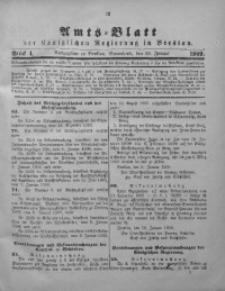 Amts-Blatt der Königlichen Regierung in Breslau, 1909, Bd. 100, St. 4