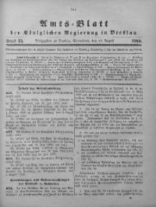 Amts-Blatt der Königlichen Regierung in Breslau, 1909, Bd. 100, St. 35