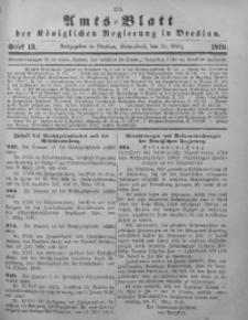 Amts-Blatt der Königlichen Regierung in Breslau, 1910, Bd. 101, St. 13