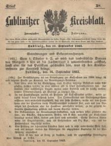 Lublinitzer Kreisblatt, 1863, Jg. 20, St. 38