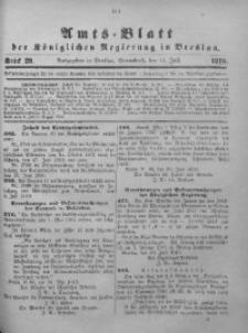 Amts-Blatt der Königlichen Regierung in Breslau, 1910, Bd. 101, St. 29