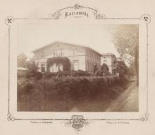 Katowice. Willa Holtzego (budynek w rejonie skrzyżowania dzisiejszych ulic Warszawskiej i Francuskiej)