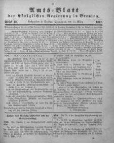 Amts-Blatt der Königlichen Regierung in Breslau, 1911, Bd. 102, St. 10