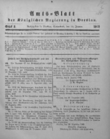 Amts-Blatt der Königlichen Regierung in Breslau, 1913, Bd. 104, St. 2