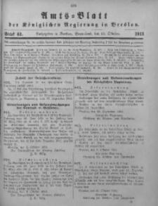 Amts-Blatt der Königlichen Regierung in Breslau, 1913, Bd. 104, St. 42