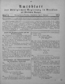 Amts-Blatt der Königlichen Regierung in Breslau, 1914, Bd. 105, St. 6