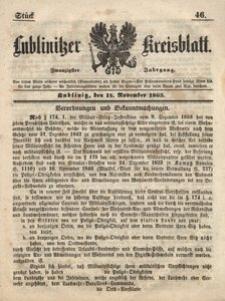 Lublinitzer Kreisblatt, 1863, Jg. 20, St. 46